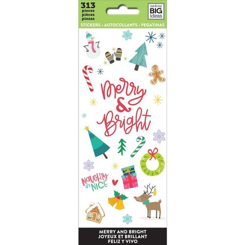 Stickers Merry And Bright