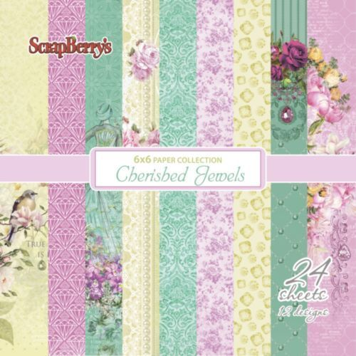 "Cherished Jewels 6"" paper collection set"