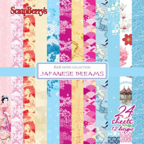 "Japanese Dreams 6"" paper collection set"