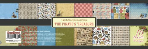 The Pirate's Treasure Paper Collection Set 12""
