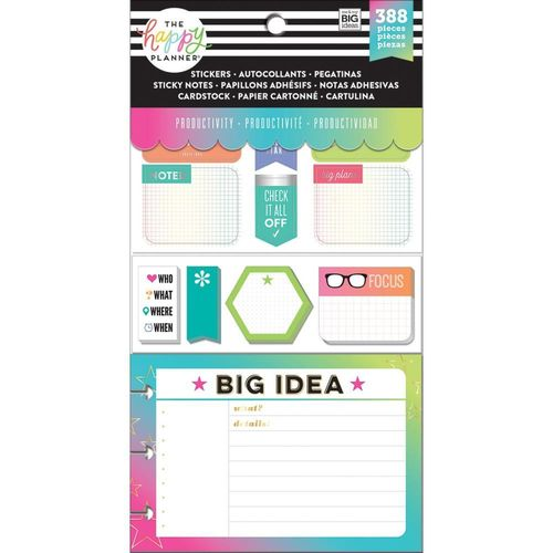 Happy Planner Multi pack, productivity 02