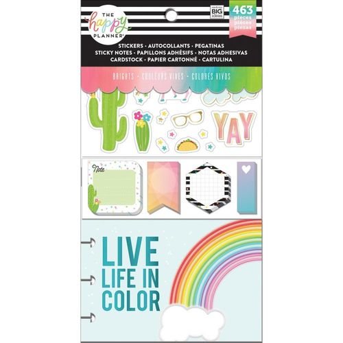 Happy Planner Multi pack, Brights 12