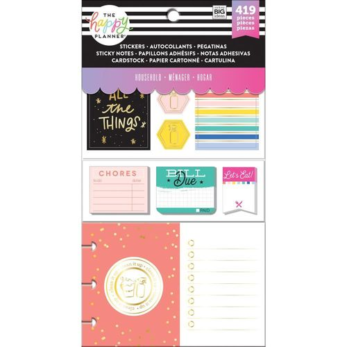 Happy Planner Multi pack, Household