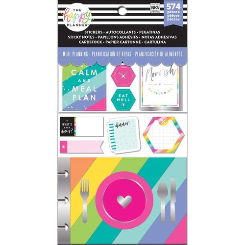 Happy Planner Multi pack, Meal Planning