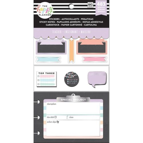 Happy Planner Multi pack, Chalkboard