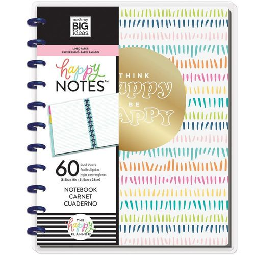 Happy Planner BIG muistikirja Think Happy Be Happy