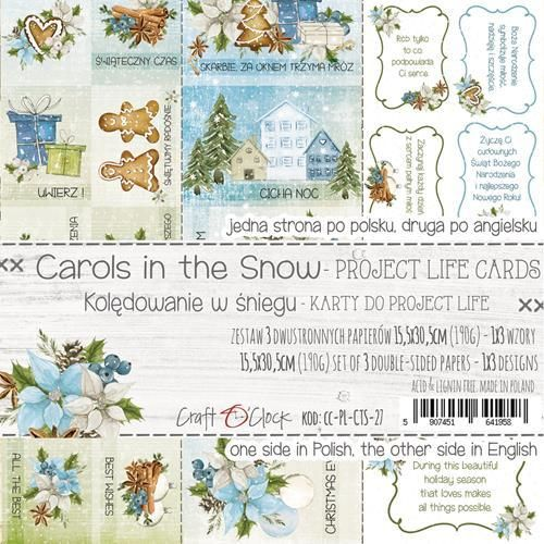 Carols in the Snow cards