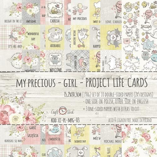 My Precious Girl card set