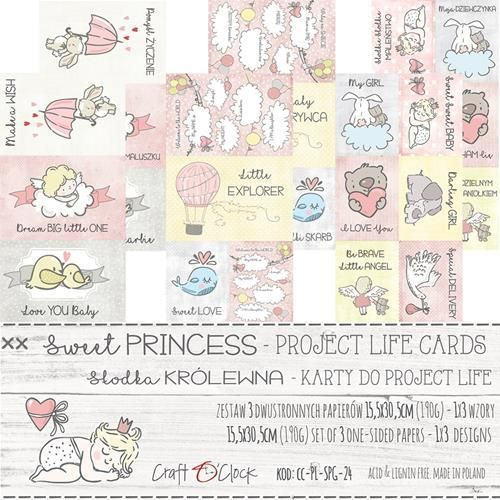 Sweet Princess card set