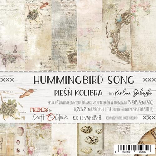 "Hummingbird Song 6"" pakkaus"