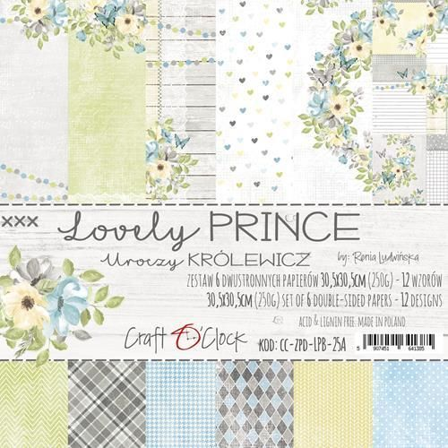 Lovely Prince   Paper Collection Set 12""