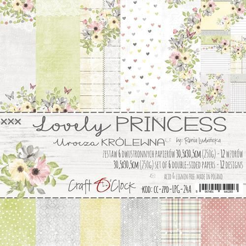 Lovely Princess   Paper Collection Set 12""