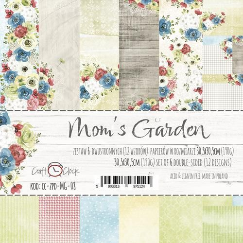 Mom's Garden Paper Collection Set 12""