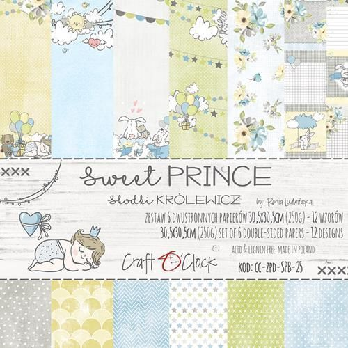 Sweet prince  Paper Collection Set 12""