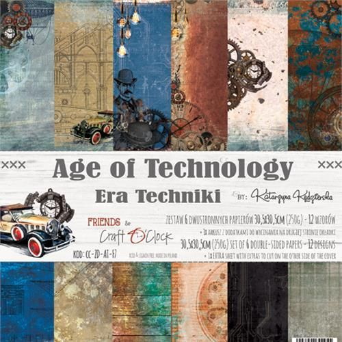 "Age of Technology 12"" pakkaus"