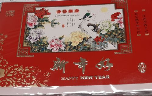 Chinese New Years Card 3